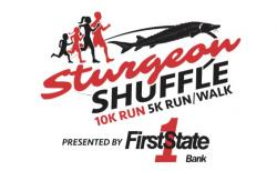 This is the logo for the Sturgeon Shuffle.